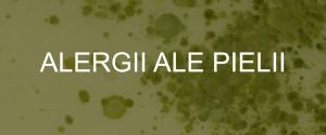 ALERGII ALE PIELII